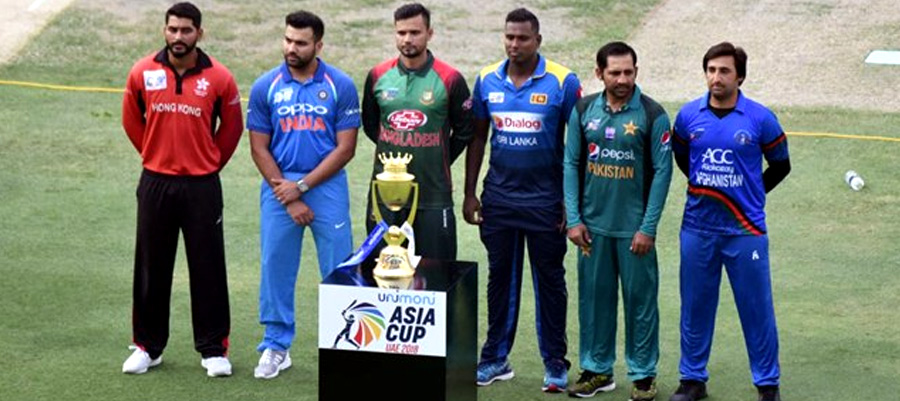 Winners of Asia Cup
