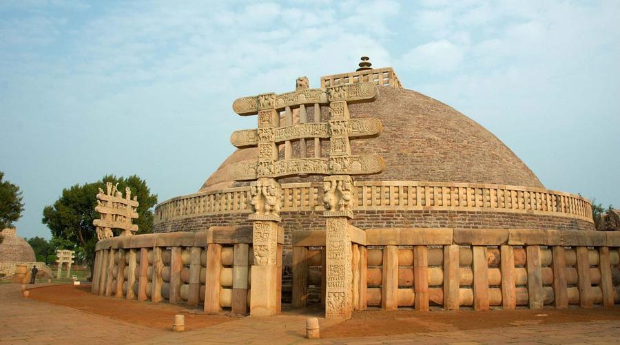 Buddhist Monuments at Sanchi, Madhya Pradesh