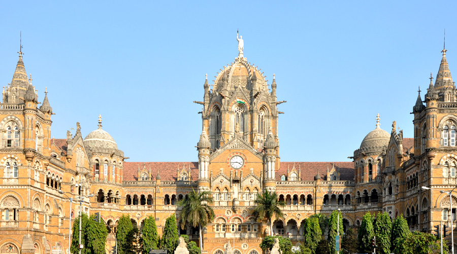 Chhatrapati Shivaji Maharaj Terminus (formerly Victoria Terminus), Maharashtra