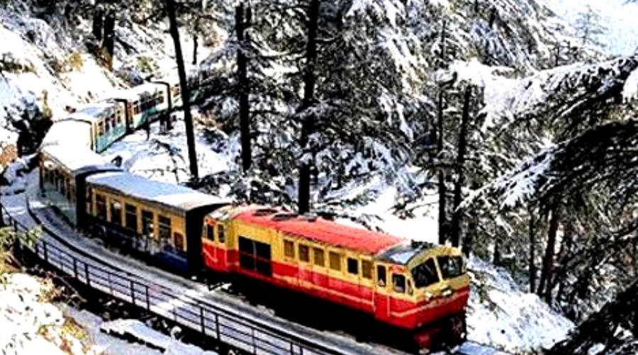 The Kalka Shimla Railway